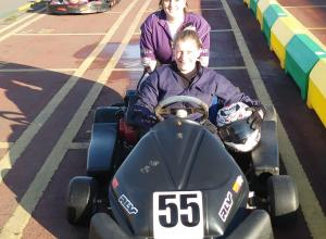 girls go karting